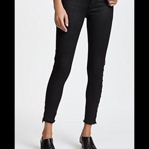 Dl1961 black cropped Jeans
